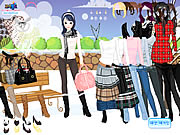 Click to Play Winter Trend Dress Up