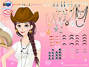 Click to Play Texan Beauty Dressup