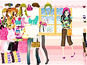 Click to Play Colorful Winter Dress Up