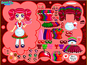 Click to Play Cherry Soda Dress Up