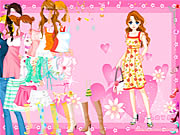 Click to Play Pink Heart Dressup