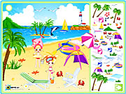 Click to Play Sea Side Decoration