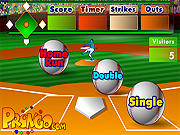 Click to Play Batters Up Base Ball Math - Multiplication Edition