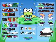 Click to Play Keroppi Dress Up