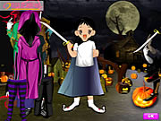 Click to Play Halloween Cute Dressup