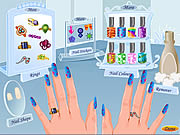 Click to Play Funky Nail Art