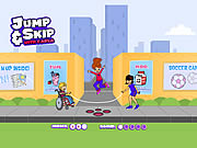 Click to Play Jump & Skip with Carla