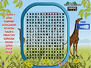 Click to Play Word Search Animal Scramble Gameplay 2