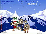 Click to Play Stoneage Santa