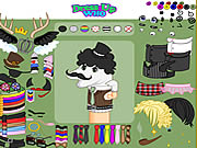 Click to Play Dirty Socks Dress Up