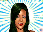 Click to Play Rihanna Makeover