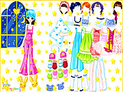 Click to Play Pajama Party Dress Up