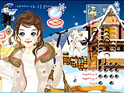 Click to Play Ski Girl Make Up
