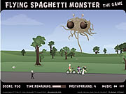 Click to Play Flying Spaghetti Monster