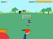 Click to Play Footie Kick