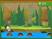 Click to Play River Whoosh Log Hop