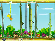 Click to Play Tweety Bamboo Bounce