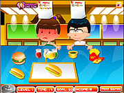 Click to Play Fast Food Rush