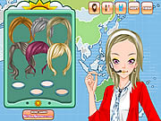 Click to Play Weather Girl Make Up Game