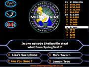 Click to Play Simpson's Millionaire