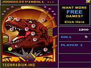 Click to Play Jurassic Pinball