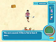 Click to Play Hannah Montana: Oliver's Treasure Hunt