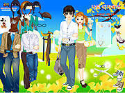 Click to Play Spring Couple Dress up