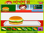 Click to Play Hamburger Girl