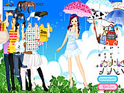 Click to Play Spring Rain Dress up