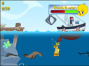 Click to Play Tweety's Ocean Cleaning