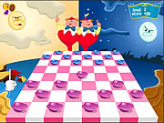 Click to Play Checkers of Alice in Wonderland