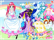 Click to Play Lucy Gowns Dressup