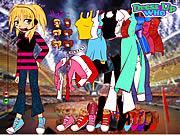 Click to Play Hannah Montana Dress Up