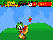 Click to Play Mickey's Apple Plantation