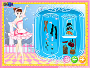Click to Play Dancing Girl Dressup