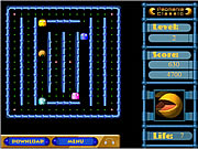 Click to Play Pacmania III