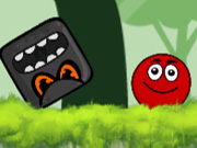 Click to Play Ball Hero: Red Bounce Ball