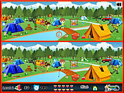 Click to Play Camping - Spot The Difference