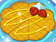 Click to Play Caramel Waffles