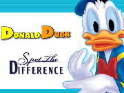 Click to Play Donald Duck Spot the Difference