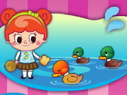 Click to Play Duck Pond Puzzle