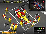Click to Play F1 Pitstop Challenge