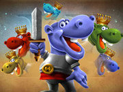 Click to Play Hippo Knight