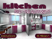Click to Play Kitchen Find the Alphabets