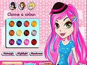 Click to Play Modish Highlight Hairstyle