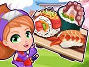 Click to Play Ninja Cooking Sushi