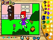 Click to Play Pick & Paint Fairytales