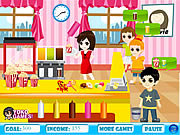 Click to Play Popcorn Machine Serve