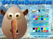 Click to Play Ice Age 3: Sid's Egg Decorator