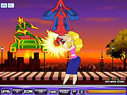 Click to Play Spider Man Kiss